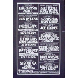 BGP 1972: King Crimson (Handbill)