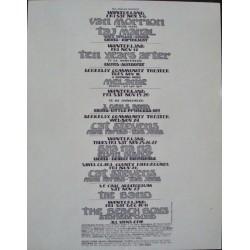 BGP 1971: Van Morrison (Handbill)