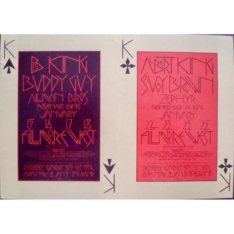 BG 212-213: B.B. King (Postcard)