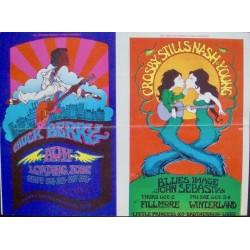 BG 193-194: CSNY (Postcard)