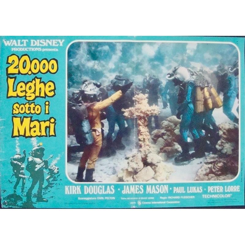 20000 Leagues Under The Sea (fotobusta 2)