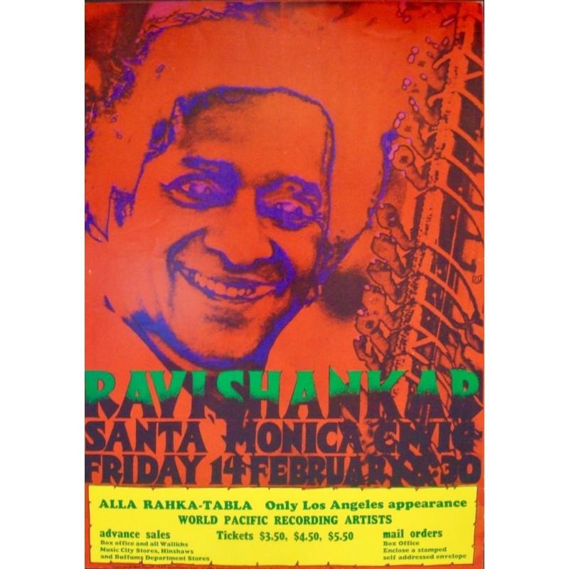 Ravi Shankar - Santa Monica 1969