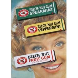 Beech-Nut Gum  (1962)