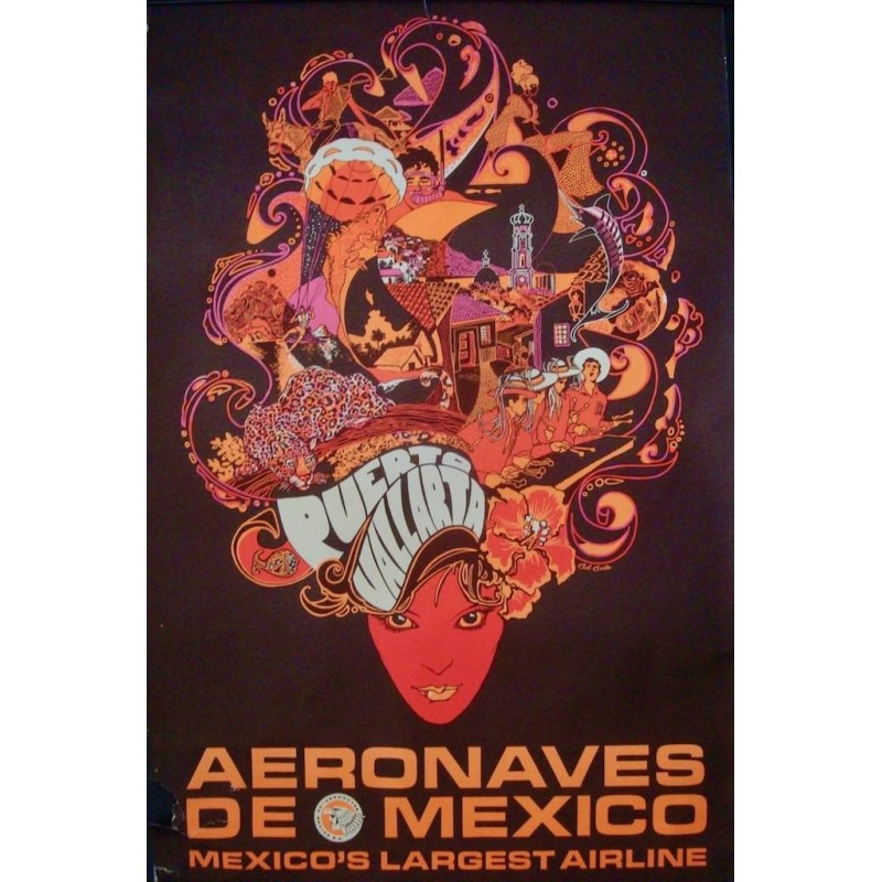 Aeronaves de Mexico Puerto Vallarta (1972)