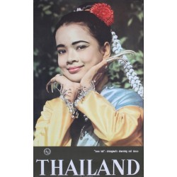 Thailand - Chiengmai's nail dance (1967)