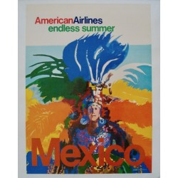 American Airlines Mexico Endless Summer (1971 - LB)