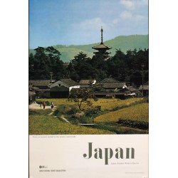 Japan: Nara countryside (1972)