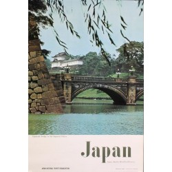 Japan: Tokyo imperial palace (1968)