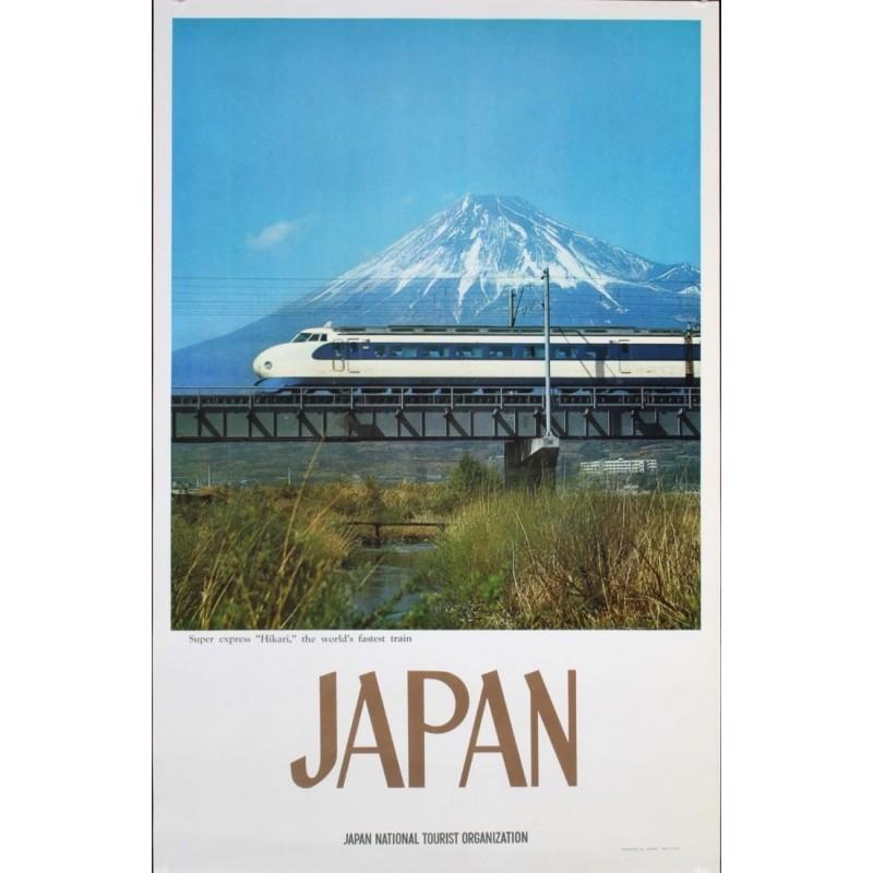 Japan: Superexpress Hikari train (1968)