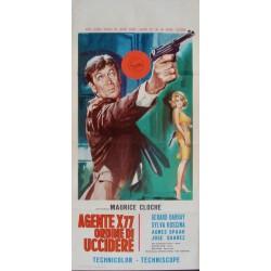 Agent X77 Orders To Kill (locandina)