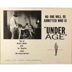 Under Age (half sheet)