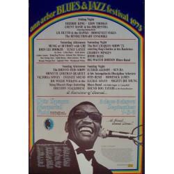 Ann Arbor Jazz and Blues festival 1973