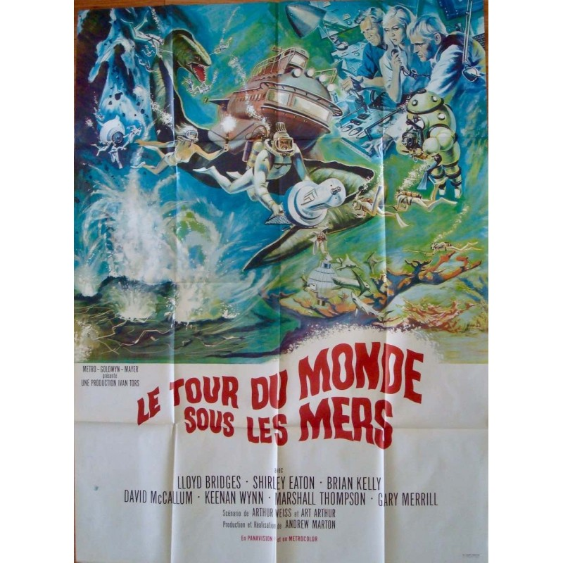 Around The World Under The Sea (French)