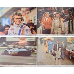Le Mans (Lobby Card small set of 4)
