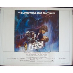 Empire Strikes Back (half sheet style A-2)