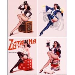 Zatanna (set of 4)