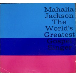 Mahalia Jackson - 1961 German Tour Program