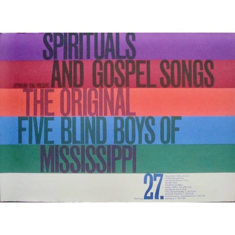 Five Blind Boys Of Mississippi - Frankfurt 1965