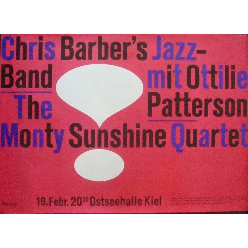 Chris Barber - Kiel 1960