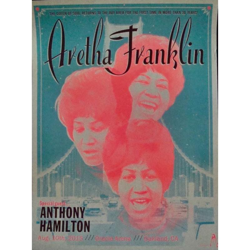 Aretha Franklin - Oakland 2015