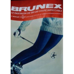 Brunex ski clothing (1965)