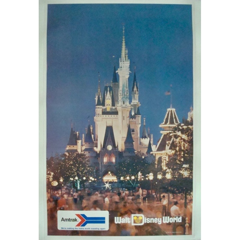 Amtrak Walt Disney World (1974 - LB)