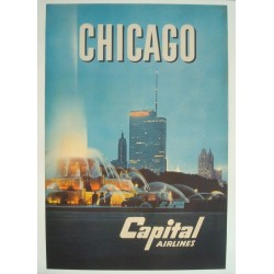 Capital Airlines Chicago (1958 - LB)