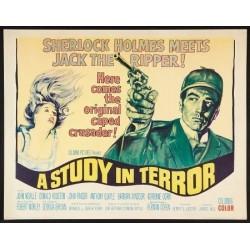 Study In Terror (half sheet)