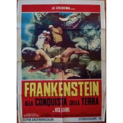 Frankenstein Conquers The World (Italian 2F)