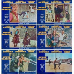 Butch Cassidy And The Sundance Kid (R75 fotobusta set of 6)