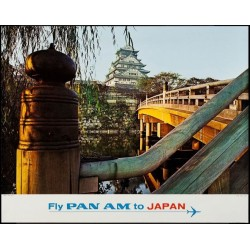 Pan Am Japan Osaka Castle...