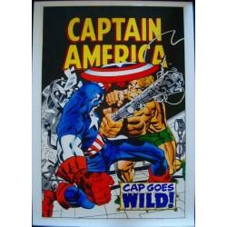 Captain America: Cap Goes Wild (Marvelmania LB)