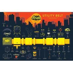 Batman - Utility Belt (Mondo info-rama)