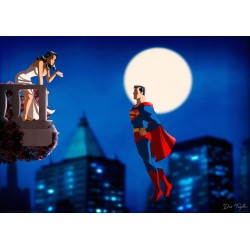 Superman: On The Balcony