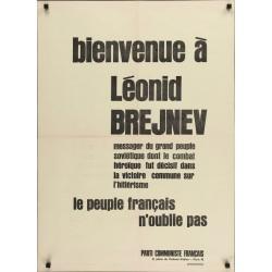 Bienvenue a Leonid Brejnev