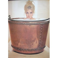 Girl In Barrel