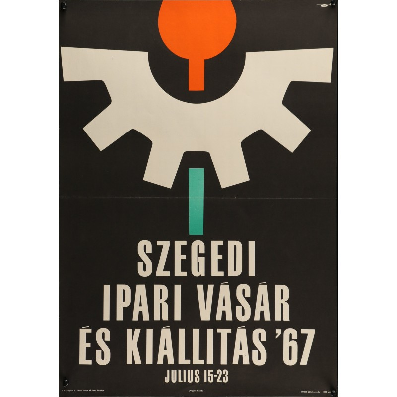 Szeged Industrial Fair And Exhibition 1967 (Hungarian)