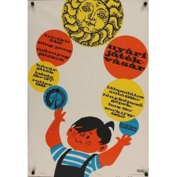 Summer Toy Fair 1966 (Hungarian)