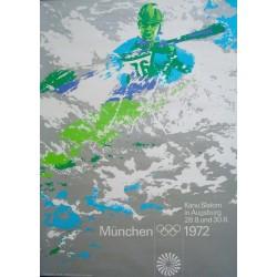 Munich 1972 Olympics Canoeing