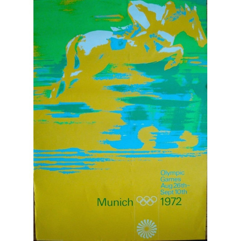 Munich 1972 Olympics Equestrian (A0)