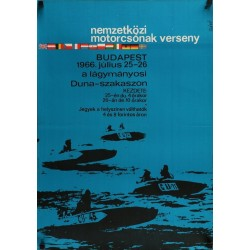 International Motorboat Competition 1967 (Hungarian)