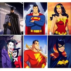 DC Comics Showcase (set of 6)