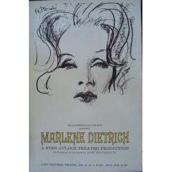 Marlene Dietrich - New York 1967