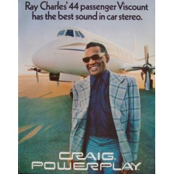 Craig Car Stereo Powerplay: Ray Charles