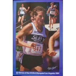 Los Angeles 1984 Olympics: Steve Scott