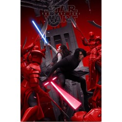 Star Wars: The Last Jedi (Mondo R2019)