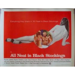 All Neat in Black Stockings (half sheet)