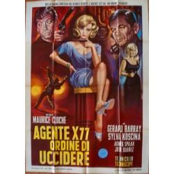 Agent X77 Orders To Kill (Italian 2F)