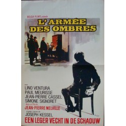 Army Of Shadows - L'armee des ombres (Belgian)