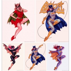 Batgirl (set of 5)